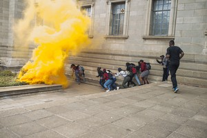 Photo of Wits students
