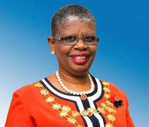 Photo of mayor of Durban