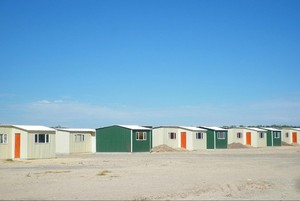 Photo of low cost houses