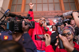 COSATU marches against state capture