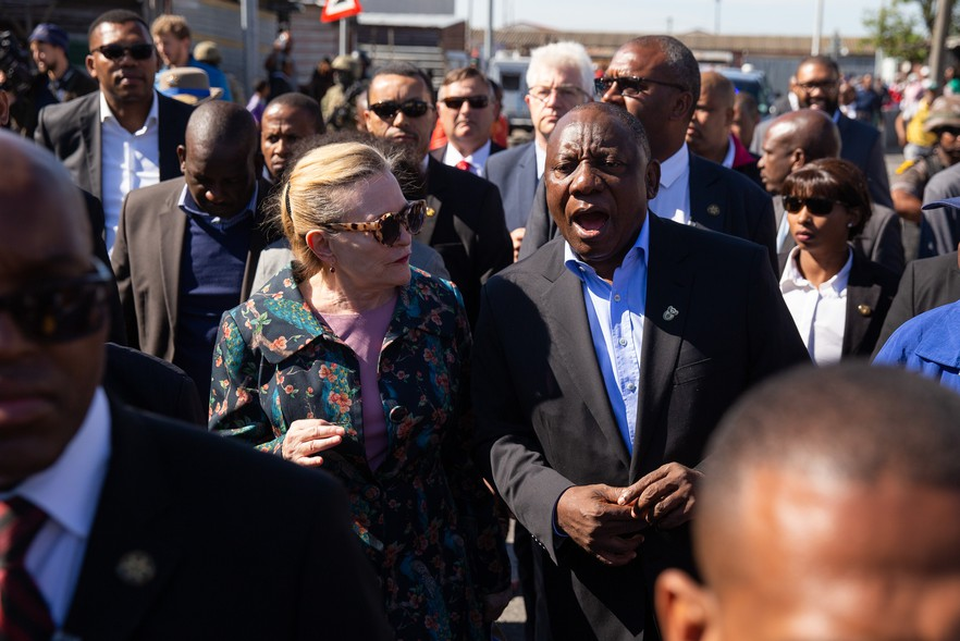 Photo of Ramaphosa and Zille
