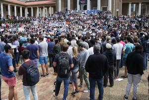 Photo of Open UCT protest