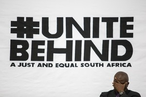 Photo of #Unite Behind poster