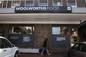 Photo of Woolworths store