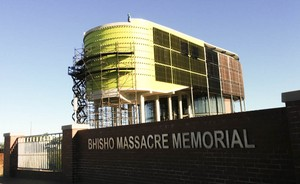 Photo of the Bhisho memorial