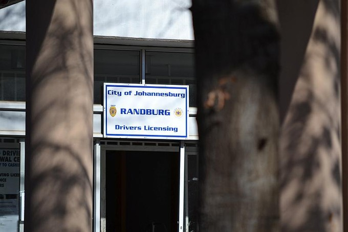 Photo of Johannesburg driver\'s licensing office