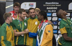 Photo of Caster Semenya and other athletes