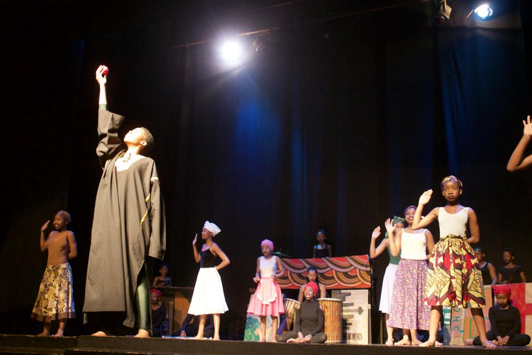 Photo of Centurion\'s cast on stage