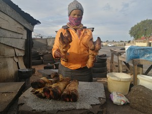 Meat vendor in Port Elizabeth