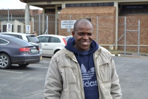 Photo of man outside court in Zwelitsha