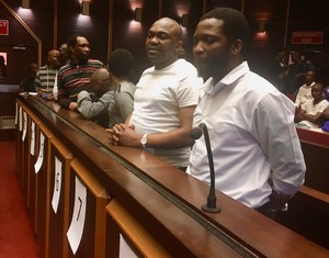Photo of accused in Glebelands trial